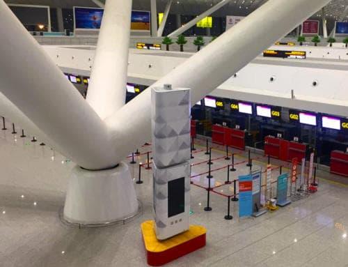 La Dicecell dell'aeroporto internazionale di Zhengzhou Xinzheng