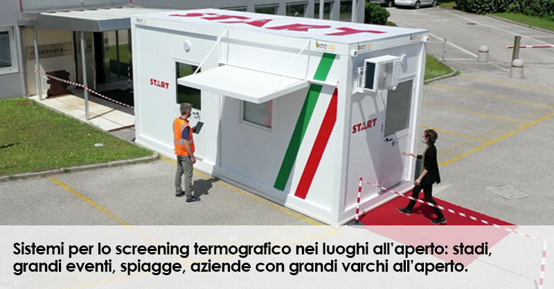 START Screening termografico all'aperto